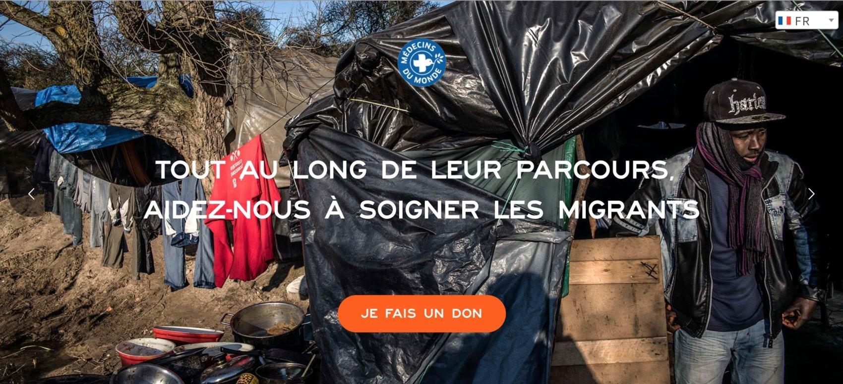 L'Europe de Médecins du Monde se mobilise pour les migrants
